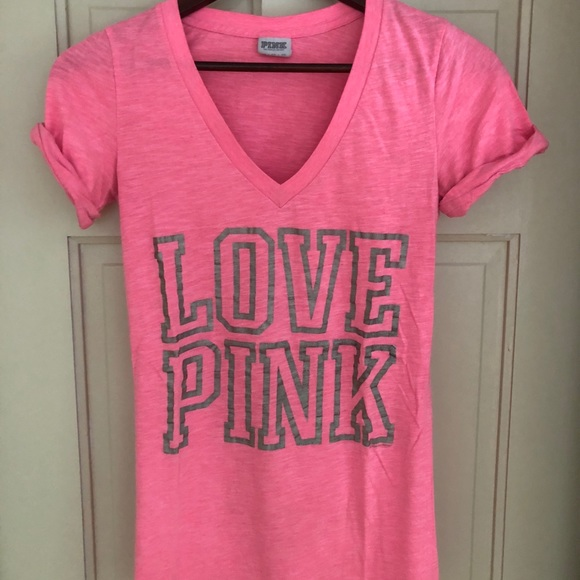 518fb3eda3ba2 Victoria's Secret 'Love Pink' V-Neck - XS